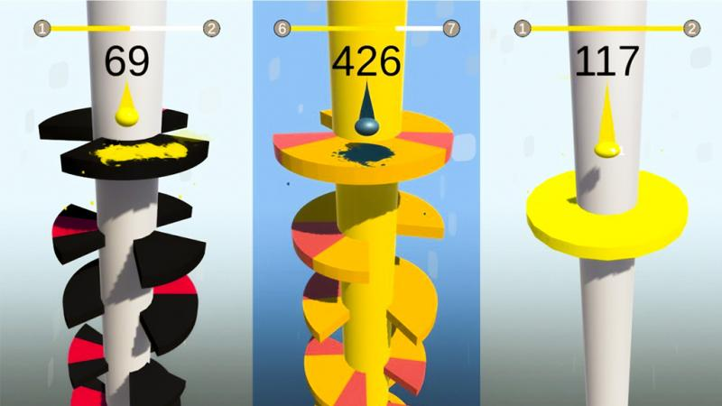 Helix Jump Mod: Hack Full miễn phí cho Android