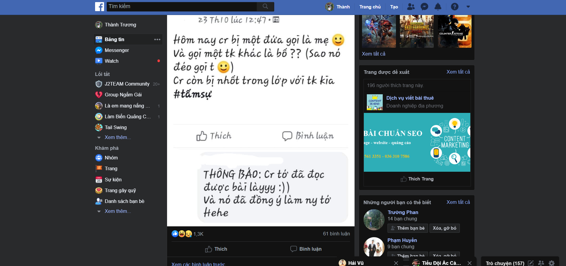 Bật Dark Mode trên Chrome 78 PC